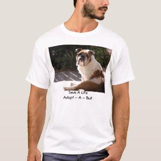 English Bulldog Rescue Network - Customized T-Shirt