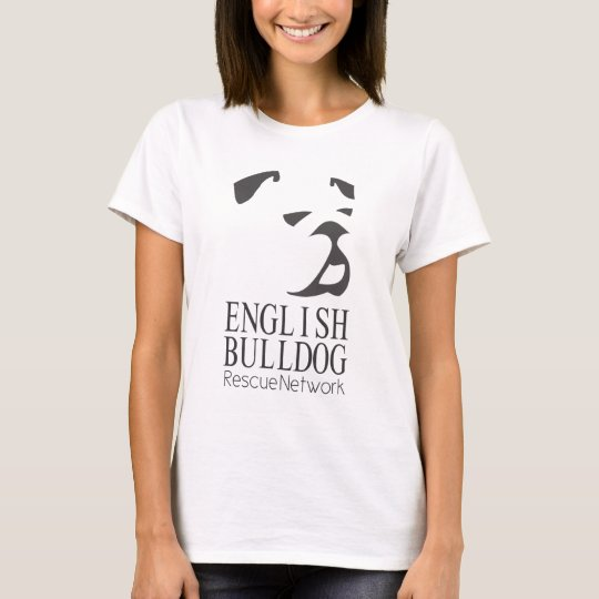 English Bulldog Rescue T Shirt Help Rescue Zazzle