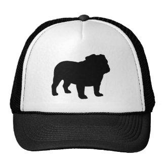 English Bulldog Silhouette Trucker Hat