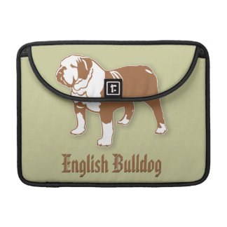 English Bulldog Sleeve For MacBooks
