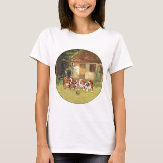 English Bulldog Summertime Fun T-Shirt