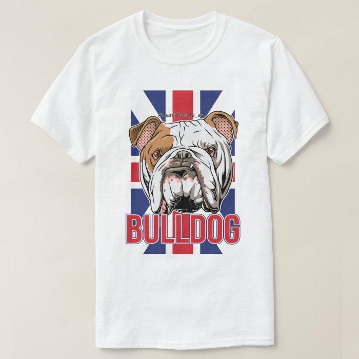 English bulldog t shirt zazzle T shirts for english bulldogs