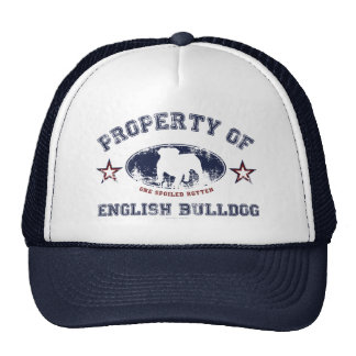 English Bulldog Trucker Hat