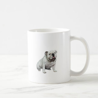 English Bulldog - White 1 Mug