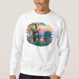 English Bulldog (white-brown) Sweatshirt