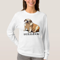 English Bulldog womans shirt
