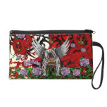 English Bulldog Wristlet Purse