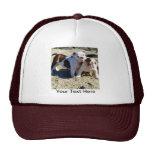 English Bulldogs Puppy Love! Hats