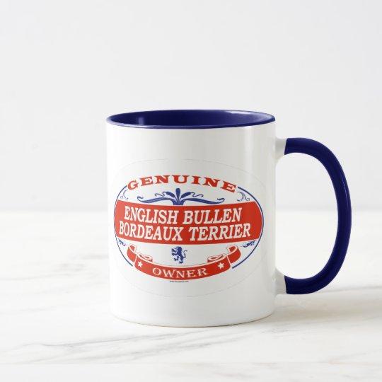 English Bullen Bordeaux Terrier  Mug