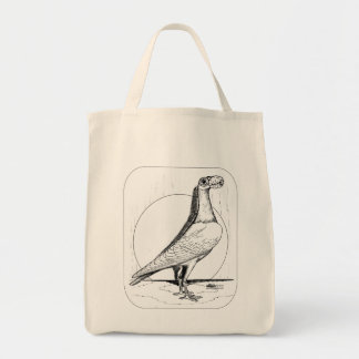 English Carrier Pigeon1978 Tote Bags