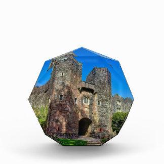 English Castle Entrance on a Summer's Day Acrylic Award