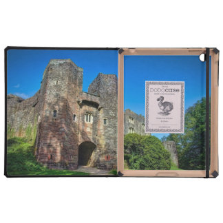English Castle Entrance on a Summer's Day Cover For iPad