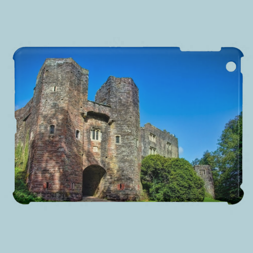 English Castle Entrance on a Summer's Day Cover For The iPad Mini