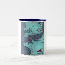 English Channel Nautical Map