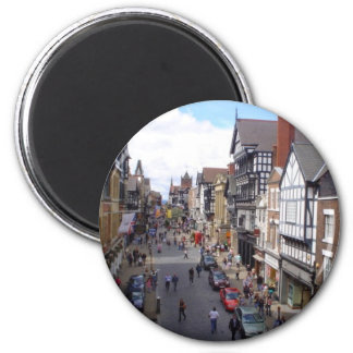English City of Chester 2 Inch Round Magnet