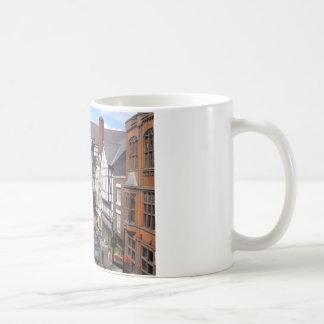 English City of Chester Classic White Coffee Mug