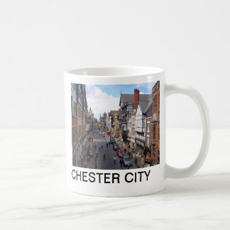 English City of Chester Coffee Mug
