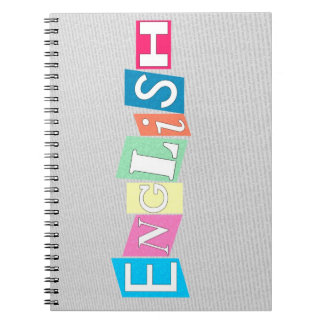English Class Notebook