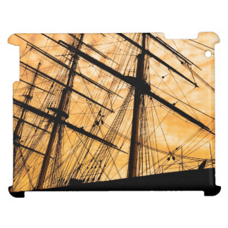 English Clipper Sailing Ship Artwork Cover For The iPad 2 3 4