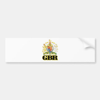 English Coat of Arms Bumper Sticker