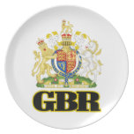 English Coat of Arms Plate