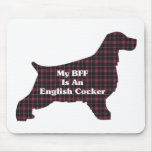 English Cocker BFF Gifts Mouse Pad