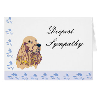 English Cocker Spaniel Card
