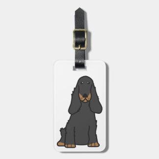 English Cocker Spaniel Dog Cartoon Bag Tag