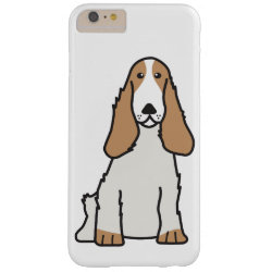 Case-Mate Barely There iPhone 6 Plus Case with Cocker Spaniel Phone Cases design
