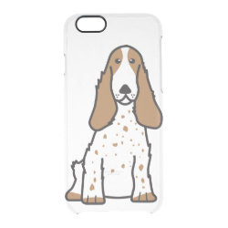 Uncommon iPhone 6 Clearly™ Deflector Case with Cocker Spaniel Phone Cases design
