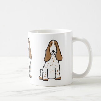 English Cocker Spaniel Dog Cartoon Coffee Mug