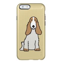 Incipio Feather® Shine iPhone 6 Case with Cocker Spaniel Phone Cases design