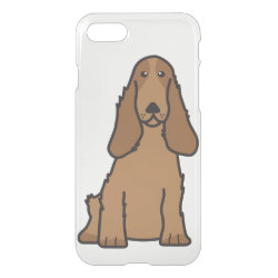 Uncommon iPhone 7 Clearly™ Deflector Case with Cocker Spaniel Phone Cases design