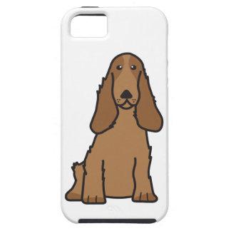 English Cocker Spaniel Dog Cartoon iPhone SE/5/5s Case