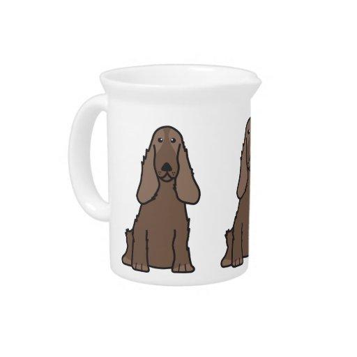 English Cocker Spaniel Dog Cartoon Pitchers