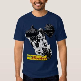 English Cocker Spaniel Jumping T Shirt