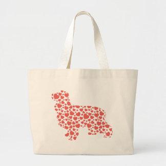 English Cocker Spaniel Large Tote Bag