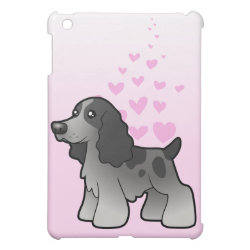 Case Savvy iPad Mini Glossy Finish Case with Cocker Spaniel Phone Cases design