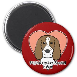 English Cocker Spaniel Lover Magnet