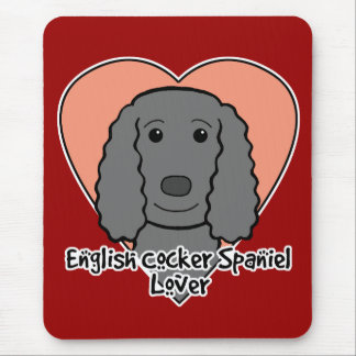 English Cocker Spaniel Lover Mouse Pad