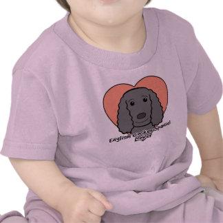 English Cocker Spaniel Lover Shirts