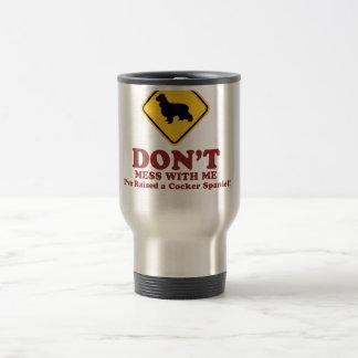 English Cocker Spaniel 15 Oz Stainless Steel Travel Mug