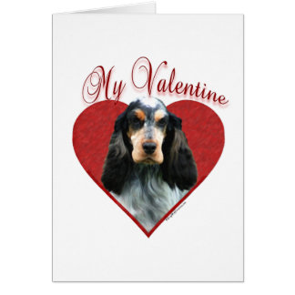 English Cocker Spaniel My Valentine Card