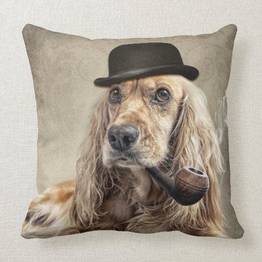 english cocker spaniel pillow
