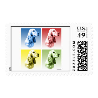 English Cocker Spaniel Pop Postage