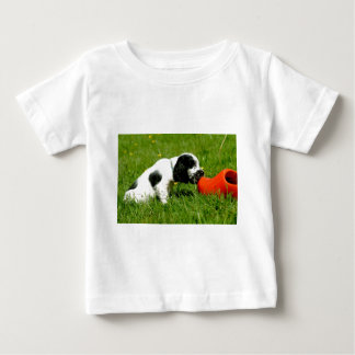 English Cocker Spaniel Puppy with red clog Tee Shirt