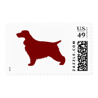 English Cocker Spaniel (Red) Postage