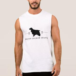 English Cocker Spaniel silhouette -1- Sleeveless Shirt
