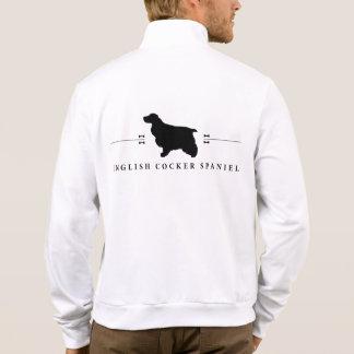 English Cocker Spaniel silhouette -1- Jacket