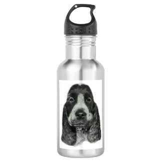 English Cocker Spaniel Water Bottle